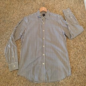 Gap gingham button up