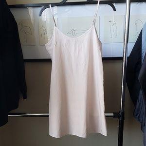 F21 Nude Slip Dress -Small