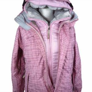 Betty Rides Women's Pink Snowboard Ski Jacket