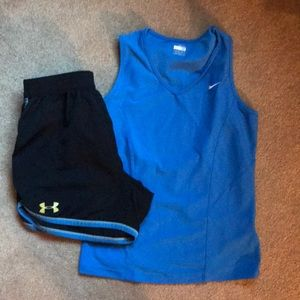 Medium bundle of workout clothes!