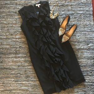 🆕 listing!  CK ruffle front dress Size 8
