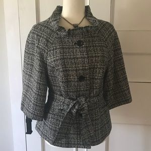 🆕 listing!  NWOT Limited Ruffle Collar Jacket M