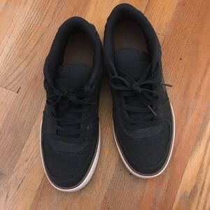 Nike Black Low Tops