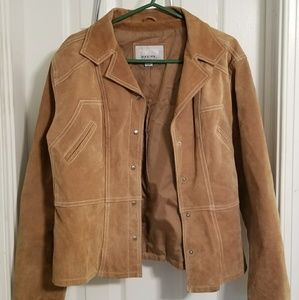 Wilsons Leather Maxima Brown leathersuede jacket L