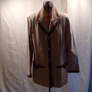 St. John Khaki jacket