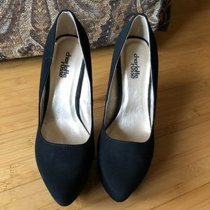 charlotte russe black pumps 6