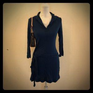 BCBGMaxazria blue dress