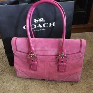 Coach Soho Suede Satchel
