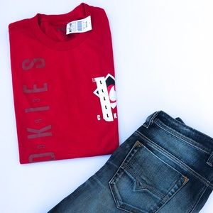 Cookies Ready for Flight Red T-Shirt L