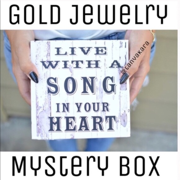Oh, it's Fayth! Jewelry - 8 Pc Pack; Resellers/Holiday Box- Gold Jewelry Box