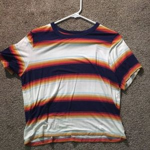 American Eagle Cropped Shirt (NEVER WORN)
