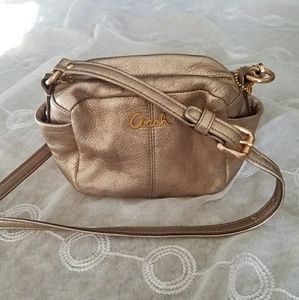 Coach Rose Gold Crossbody