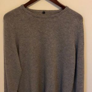 Muji 100% Cashmere Crew Neck Sweater