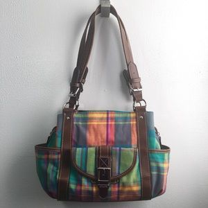 🆕 Listing!  Chaps Madras Plaid Satchel