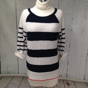 🆕 Listing! Loft Wide Striped Sweater