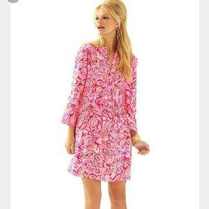 Lilly Pulitzer Sarasota Tunic Dress Mango Salsa