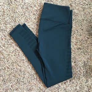 Lululemon Warp Knit Tights/Leggings Teal