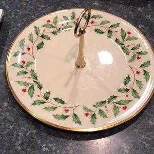 Lenox Holiday China platter