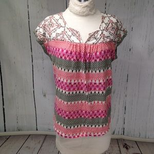 🆕 Listing? Dept222 Striped Colorful Pullover Top