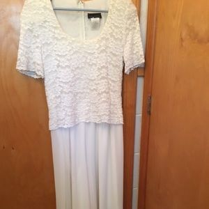 Dresses & Skirts - White lace jump suit