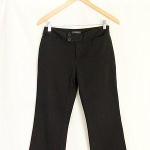 Black Cotton/Spandex Pants