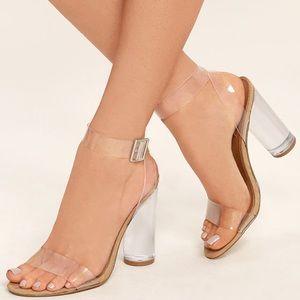 205883ebd92 Steve Madden Shoes - NWT in box Steve Madden Clear Heels
