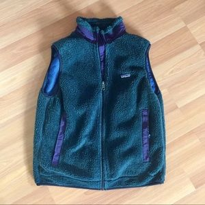 Patagonia thick-pile fleece vest