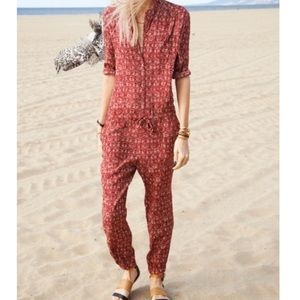 Maison Scotch and Soda Red Jumpsuit