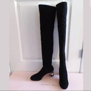 f24cd6263ed Sophia Webster Shoes - Sophia Webster OTK Suranne Suede boot  895 NEW!