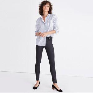 Madewell High-Rise Skinny Jeans Coated 28 Tall NWT