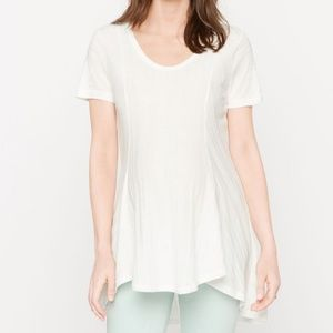Luxe Essentials Denim NEW Maternity Tunic Knit L