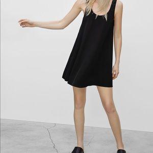 Aritzia Wilfred Black Millau Dress