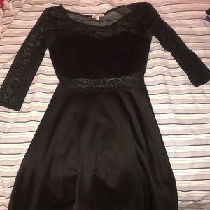 Charlotte Russe sheer sleeve dress
