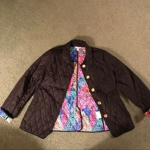 Lilly Pulitzer Jackets & Coats - Lilly Pulitzer Quilted Jacket
