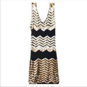 Gorgeous Bebe Sequin Bodycon dress
