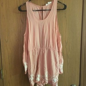 Cold shoulder romper! NWOT