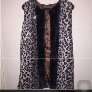 Super cute cheetah vest