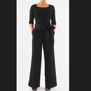 New Eshakti Mixed Media Jumpsuit M 10