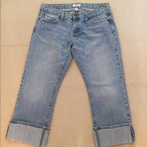 Abercrombie &Fitch cropped jeans