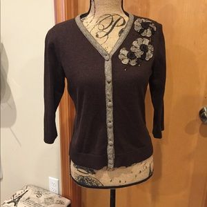 Christopher & Banks button front cardigan