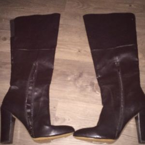 Cynthia Rowley knee high boots 8