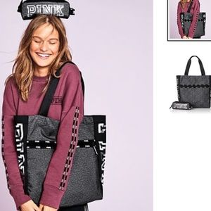 NIP VS PINK BLACK FRIDAY TECH TOTE AND POUCH
