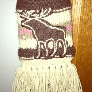 Abercrombie Moose Scarf