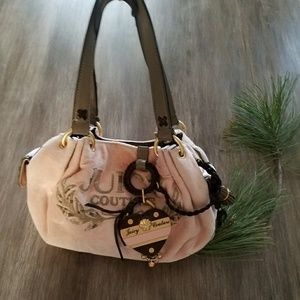 Juicy couture hand bag. Baby pink