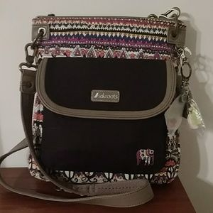 Nwt sak roots Crossbody bag