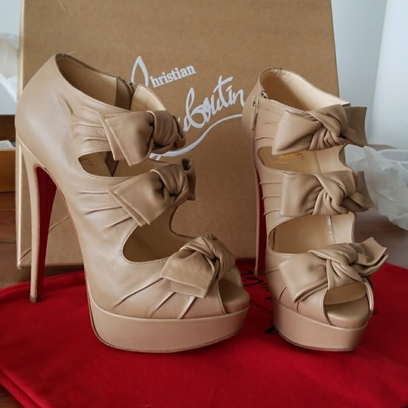 3508af26cfbb Christian Louboutin Shoes - Christian Louboutin madame butterfly heels