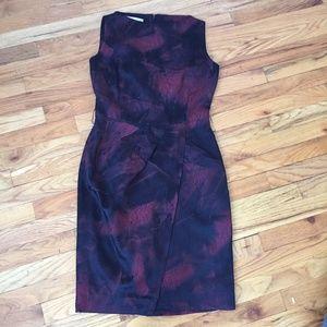 Michael Kors Made in Italy Satin Sheath Dress