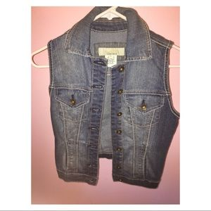 Tilly's denim vest
