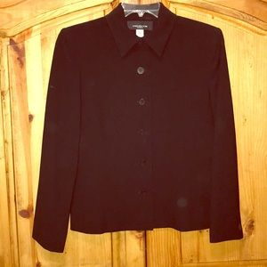 Jones of New York Cropped Suit Jacket -Size 12