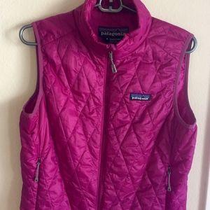 Purple Womens Patagonia Nano vest